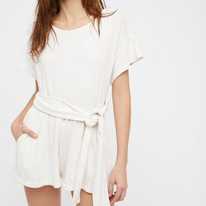 Free People Pants - Free People Easy Street Wrapped One Piece Romper